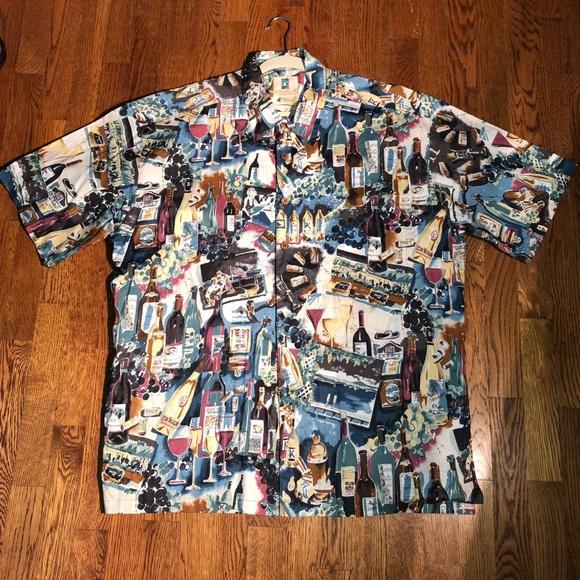 f343466aa KAHALA Other - KAHALA Hawaiian 🌺 Shirt, Wine 🍷